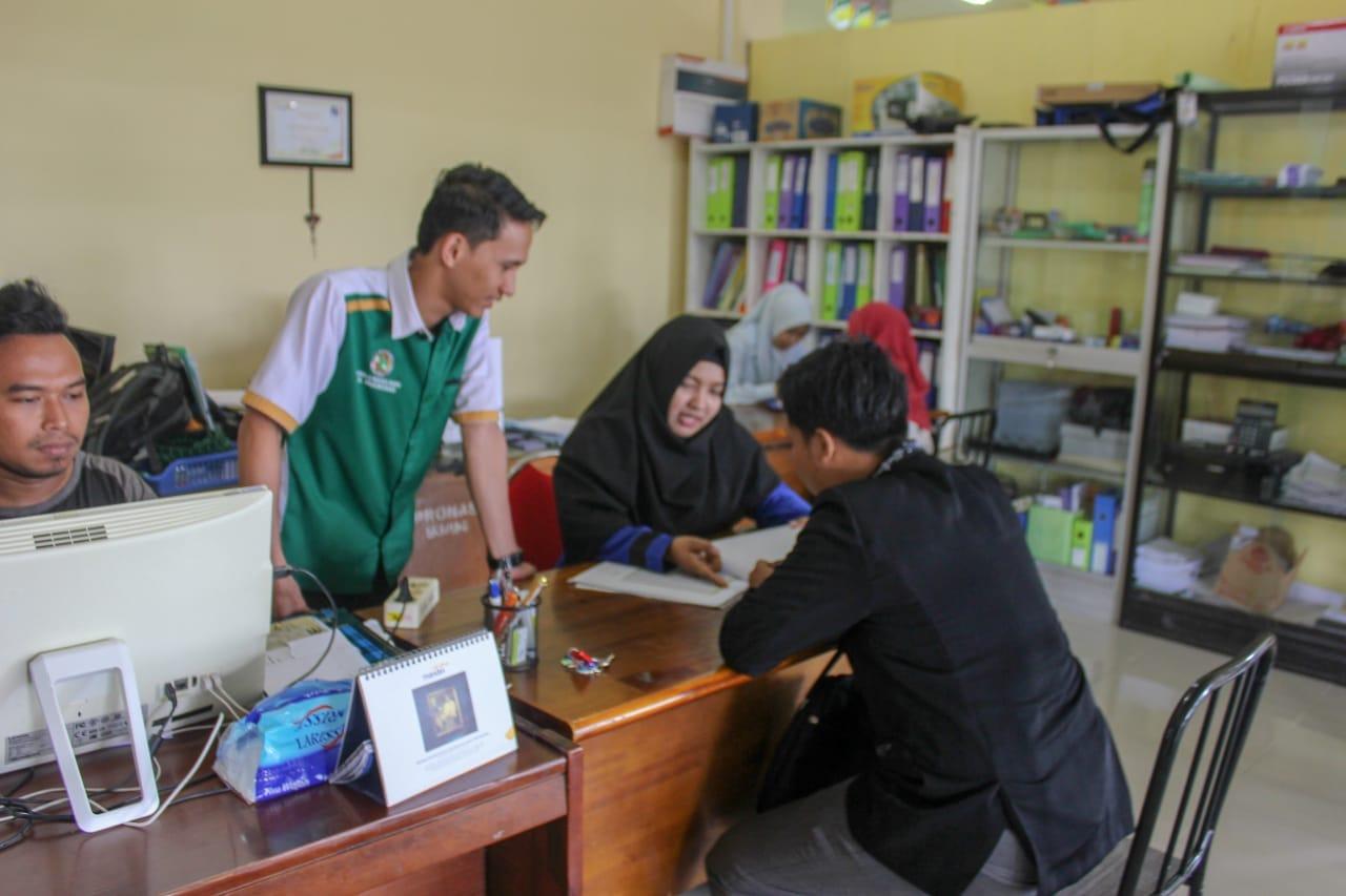 Belajar dan Diskusi Tentang Koperasi Islam di Koprasi Al-Muawanah UIN Alauddin Makassar